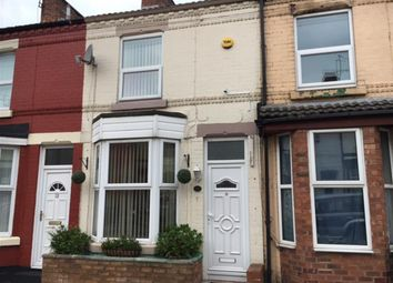 Thumbnail 2 bed terraced house for sale in Harrowby Road South, Tranmere, Birkenhead