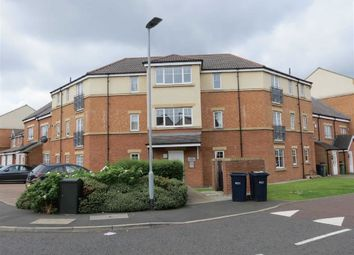 Thumbnail 2 bed flat for sale in Redgrave Close, St James Village, Gateshead