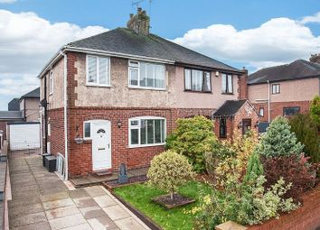 Thumbnail 3 bed semi-detached house for sale in Mow Lane, Gillow Heath, Biddulph