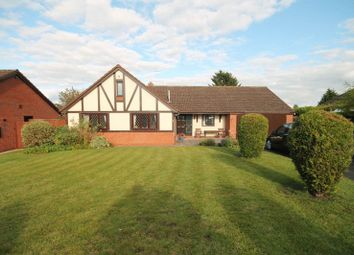 Thumbnail 3 bed detached bungalow for sale in Millfield Drive, Market Drayton