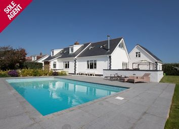 Thumbnail 3 bed detached house for sale in Route De Jerbourg, St Martin's