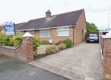 Thumbnail 2 bed semi-detached bungalow for sale in Rozel Crescent, Great Sankey, Warrington