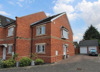 Thumbnail 3 bedroom end terrace house for sale in Derisley Close, Byfleet, West Byfleet