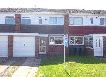 Thumbnail 1 bed terraced house to rent in Letchlade Close, Henley Green, Coventry