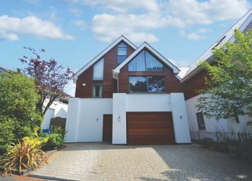 Thumbnail 4 bed detached house for sale in Over Links Drive, Poole, Dorset