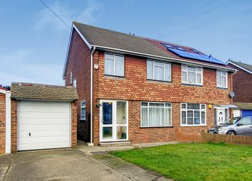 Thumbnail 3 bed semi-detached house for sale in Langdale Drive, Hayes