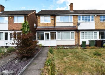 Thumbnail 3 bed end terrace house to rent in Gedney Close, Shirley, Solihull