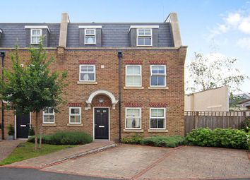 Thumbnail 3 bed end terrace house to rent in Broomcroft Court, Acton Lane, Chiswick, London