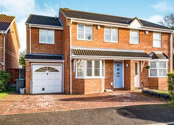 Thumbnail 4 bed semi-detached house for sale in Edinburgh Drive, Abbots Langley
