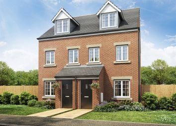 "Thumbnail 3 bed semi-detached house for sale in ""The Souter "" at Forge Wood, Crawley"