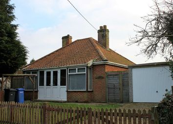 Thumbnail 2 bed detached bungalow for sale in Rissemere Lane East, Reydon, Southwold