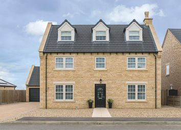 Thumbnail 6 bed detached house for sale in Whitecross, Coates Road, Eastrea, Whittlesey, Peterborough