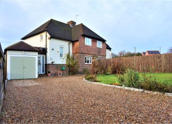 Thumbnail 3 bed semi-detached house for sale in Warren Lane, Oxted