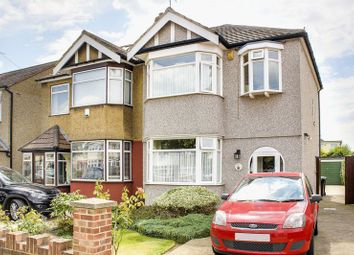 Thumbnail 3 bed semi-detached house for sale in Tenniswood Road, Enfield