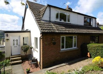 Thumbnail 3 bed semi-detached house for sale in Carr Grove, Riddlesden, Keighley, West Yorkshire
