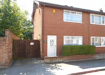 Thumbnail 2 bed semi-detached house for sale in Audley Street, Crewe, Cheshire