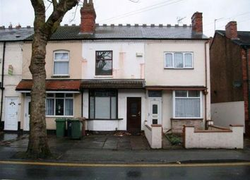 Thumbnail 3 bed terraced house to rent in Blakenall Lane, Bloxwich, Walsall