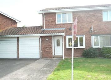 Thumbnail 3 bed semi-detached house to rent in Grandstand Road, Bobblestock, Hereford