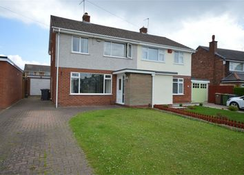 Thumbnail 3 bed semi-detached house for sale in Brookhurst Ave, Bromborough, Merseyside