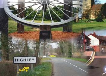 Thumbnail Land for sale in High Street, Highley, Bridgnorth