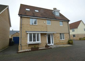 Thumbnail 5 bed detached house for sale in Magpie Close, Queens Hill, Costessey, Norwich