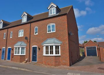 Thumbnail 3 bed end terrace house for sale in St. Lawrence Drive, Bardney, Lincoln