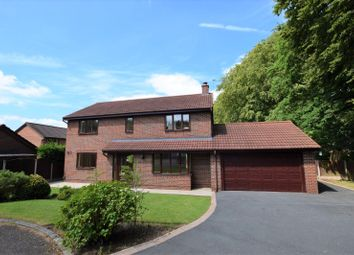 Thumbnail 4 bed detached house for sale in Carnoustie Drive, Macclesfield