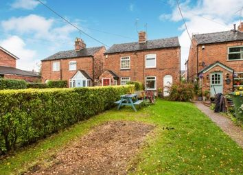 Thumbnail 2 bed semi-detached house for sale in Main Road, Wybunbury, Nantwich, Cheshire