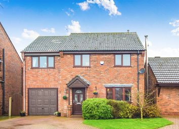 Thumbnail 4 bed detached house for sale in Weighton Court, Howden, Goole