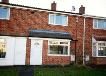 Thumbnail 2 bed terraced house to rent in Mellanby Crescent, Newton Aycliffe