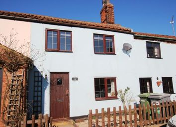 Thumbnail 2 bed terraced house for sale in Buxton, Norwich, Norfolk