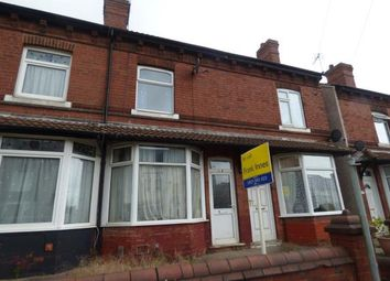 Thumbnail 2 bedroom terraced house for sale in Stoneyford Road, Sutton-In-Ashfield, Nottinghamshire