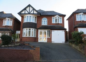 Thumbnail 3 bed detached house to rent in Hudson Road, Handsworth Wood