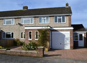 Thumbnail 3 bed semi-detached house for sale in Charter Road, Newbury, Berkshire