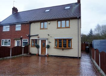 Thumbnail 4 bedroom semi-detached house for sale in Burns Road, Wednesbury