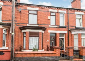 3 bed terraced house for sale in Derrington Avenue, Crewe, Cheshire CW2