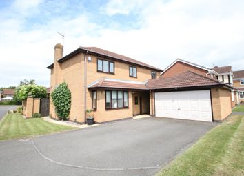 Thumbnail 4 bed detached house for sale in Trafford Close, Atherstone