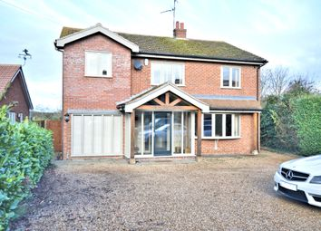 Thumbnail 4 bedroom detached house for sale in Station Road, Heacham, King's Lynn