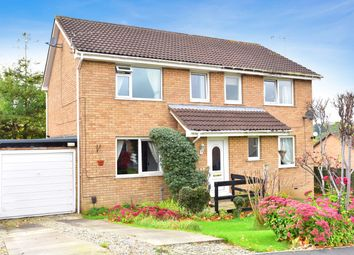 Thumbnail 3 bed semi-detached house for sale in Burnby Close, Harrogate
