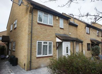 Thumbnail 1 bed end terrace house to rent in Morland Close, Mitcham