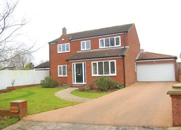 Thumbnail 4 bed detached house for sale in Water End, Brompton, Northallerton