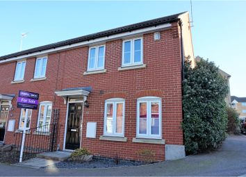 Thumbnail 3 bed end terrace house for sale in Lady Margaret Gardens, Ware