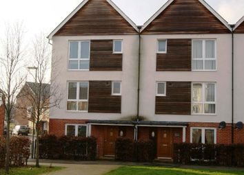 Thumbnail 4 bed town house to rent in Mallory Road, Basingstoke