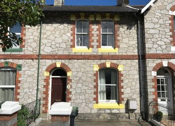 Thumbnail 3 bedroom terraced house for sale in The Avenue, Newton Abbot