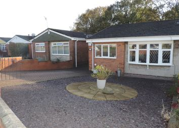 Thumbnail 2 bed semi-detached bungalow for sale in Lowell Drive, Longton, Stoke-On-Trent