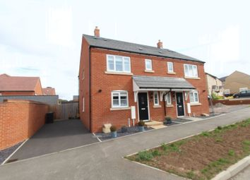 Thumbnail 3 bed semi-detached house for sale in Harvest Rise, Shefford
