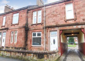 Thumbnail 1 bed flat for sale in Wood Street, Blairhill, Coatbridge