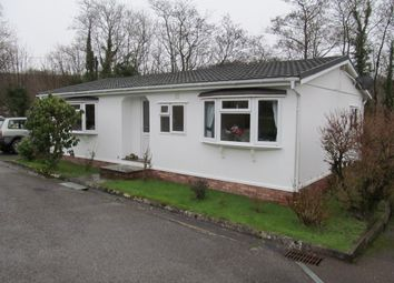 Thumbnail 2 bed mobile/park home for sale in Silent Woman Park (Ref 5224), Moorshop, Tavistock, Devon