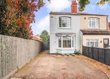 Thumbnail 3 bed semi-detached house for sale in Wellingborough Road, Rushden, Northamptonshire