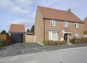 Thumbnail 4 bed detached house to rent in Locksbridge Road, Picket Piece, Andover
